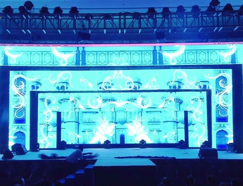 LED Archways with Front Stage
