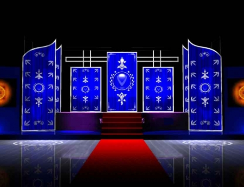 LED Custom Oriental with Stage and Dance Floor